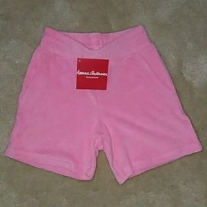 NWT Hanna Andersson Simple Terry Shorts 4y